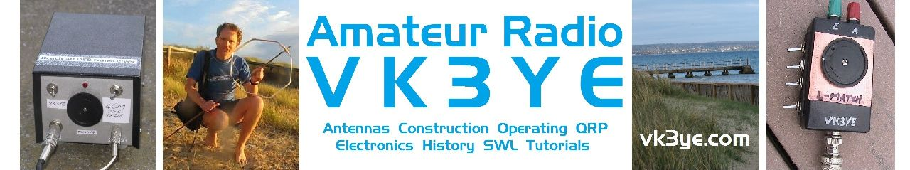 VK3YE amateur radio pages